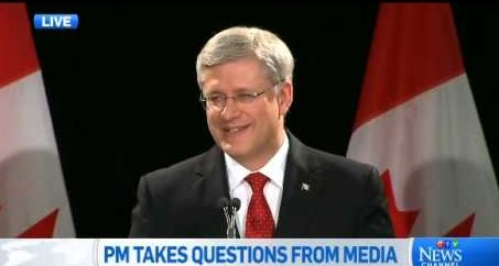 "Canadian Prime Minister Stephen Harper Says ""Do I Seem Like I Smoke Marijuana?"""