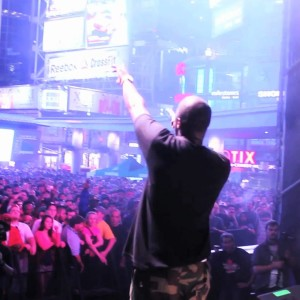 Live: JD Era Freestyle At Dundas Square