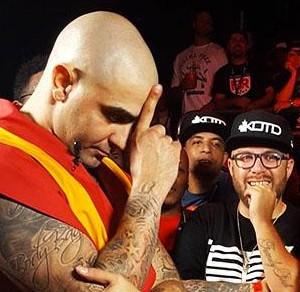 KOTD: Rap Battle- Dizaster Vs Dumbfoundead