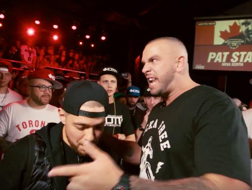 kotd rap battle pat stay vs illmaculate torontorappers