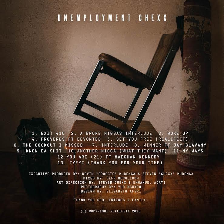 Steven Chexx- Unemployment Chexx