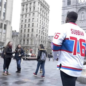 P.K. Subban Interacts With Fans Around Montreal