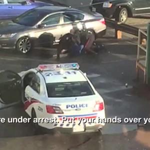 Raw Bystander video Shows Toronto Police Beating Man In Mistaken Arrest