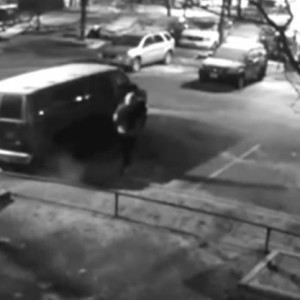 Chilling Video Of Gunman Opening Fire On Parked Van In Toronto