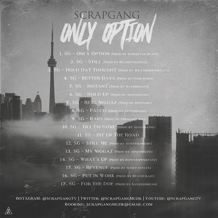 Scrap Gang- Only Option back