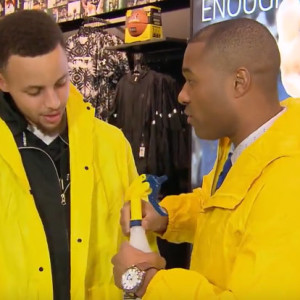 Cabbie Presents Steph Curry