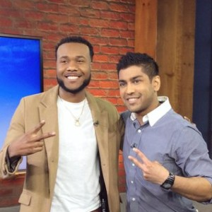 Shaqisdope Stops By CP24 Breakfast Television