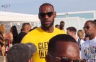 Lebron James Cabana Pool Party 2016