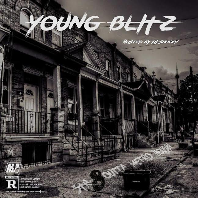 Young Blitz- Str8 Outta Metro Housin Front
