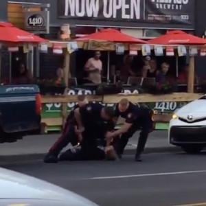 Violent Arrest Caught On Video!