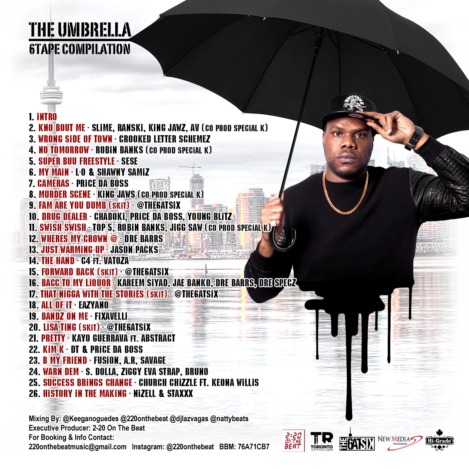 The Umbrella 6Tape