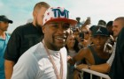 Floyd Mayweather At Cabana Pool Bar