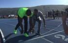 Cabbie Presents Usain Bolt Races In Super Mario Kart