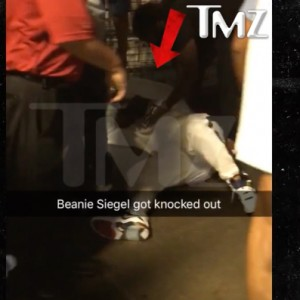 Beanie Sigel Knocked Out Backstage