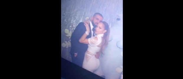 Drake And Jennifer Lopez Kissing & Grinding At A Party!