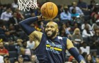 Vince Carter Still Shows Bounce With Between The Legs And 360 Dunk At 40!