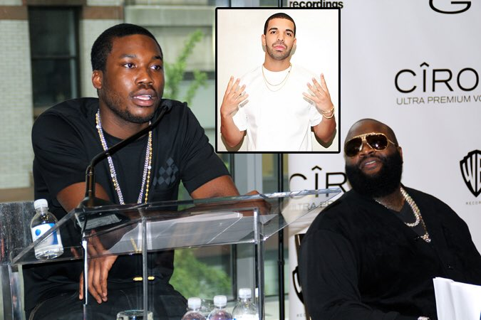 Rick Ross Says He Squashed Drake And Meek Mill Beef