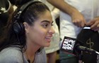 Jessie Reyez In The BET Awards Radio Room