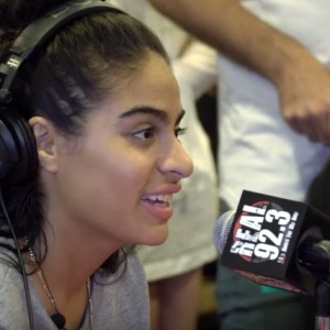 essie Reyez In The BET Awards Radio Room