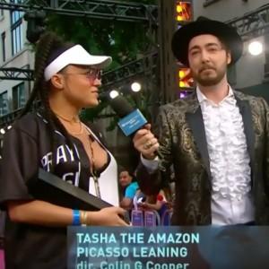 Tasha The Amazon Wins Best Hip Hop Video