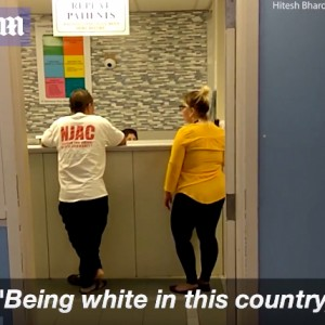 Woman Demanding White Doctor For Son
