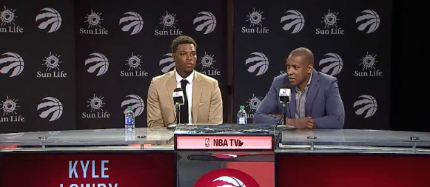 Raptors Press Conference: Kyle Lowry- July 7, 2017