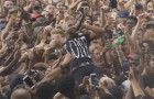 Tory Lanez Crazy Crowd Surf At Wireless Fest