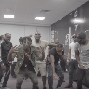 Friyie- MoneyTeam Performance Backstage