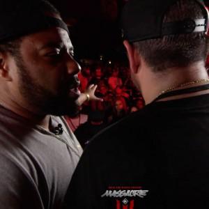 KOTD: Rap Battle – The Saurus vs Charlie Clips