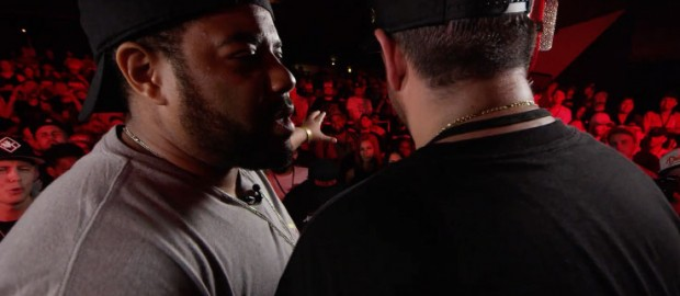 KOTD: Rap Battle – The Saurus vs Charlie Clips