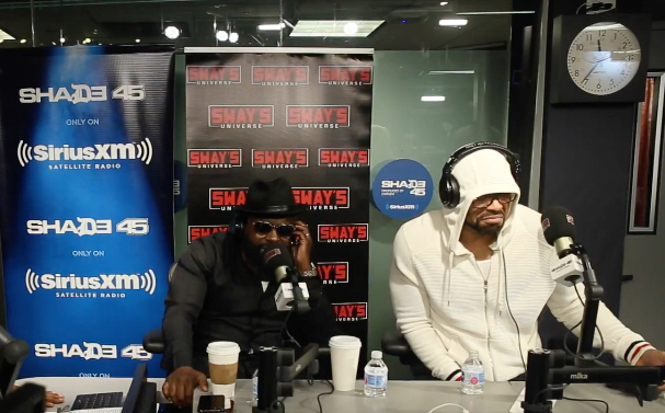 Black Thought and Method Man on Sway In The Morning