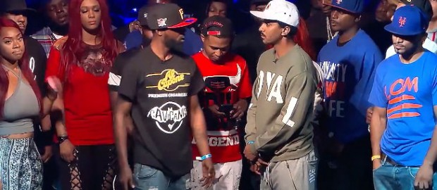 Tay Roc vs Hollow Da Don