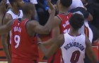 Ball Game Gets Heated After Ibaka vs Johnson Fight, Then DeRozan vs Dragic Fight