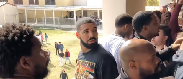 Vlog: Drake Came To My School