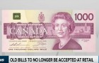 Business Report: Old Bills To No Longer Be Accepted At Retail Stores