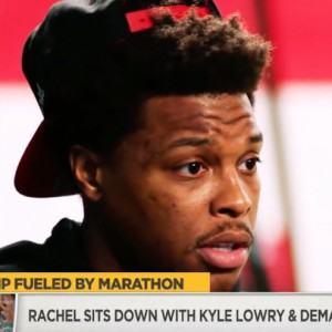 Rachel Nichols Talks NBA playoffs With DeMar DeRozan x Kyle Lowry