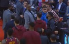 Drake Gets Into Heated Exchange With Kendrick Perkins