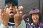 Nardwuar vs Ski Mask The Slump God At Breakout Festival