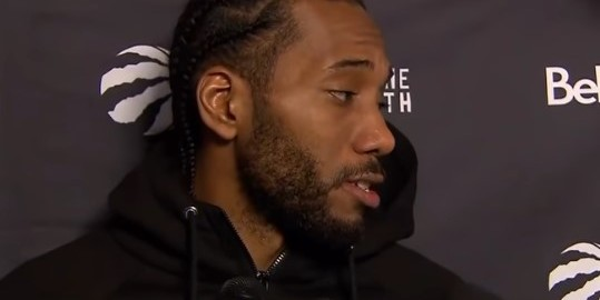 Kawhi Leonard Talks Getting Booed By Spurs Fans