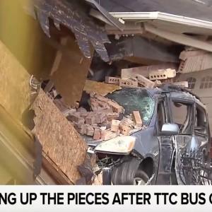 Picking Up The Pieces After TTC Bus Crash