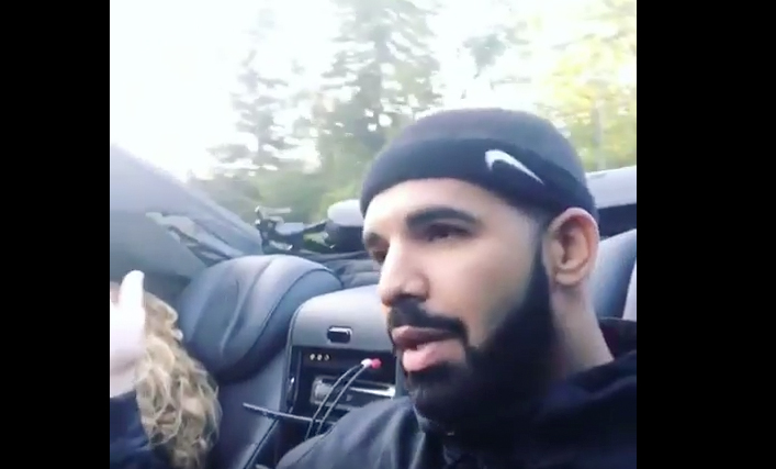 Drake And His Mom Drive Through The 6 In A Maybach
