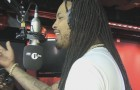 Waka Flocka & Loudiene Drop Crazy Bars On Fire In The Booth