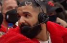 Drake Joins Raptors Broadcast Courtside For Preseason Game